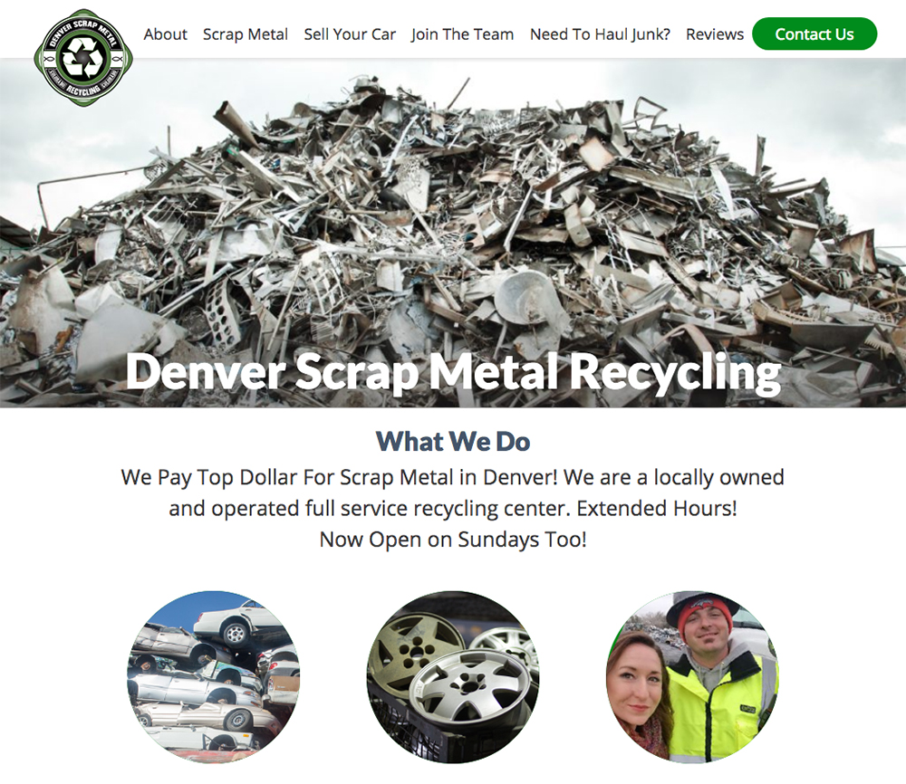 Denver Scrap Metal Recycling